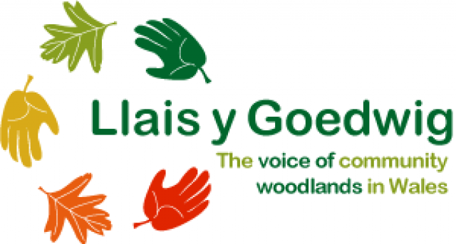 Bilingual Logo for woodland organisation